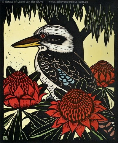 Kookaburra, Leslie Van der Sluys