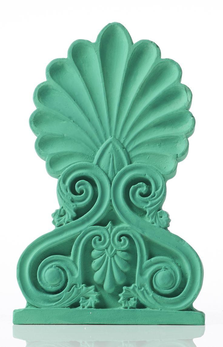 Akrokeramo Wall Medium. Dimension: 26x16x1,5cm Material: Ceramine. Color: Light Green.