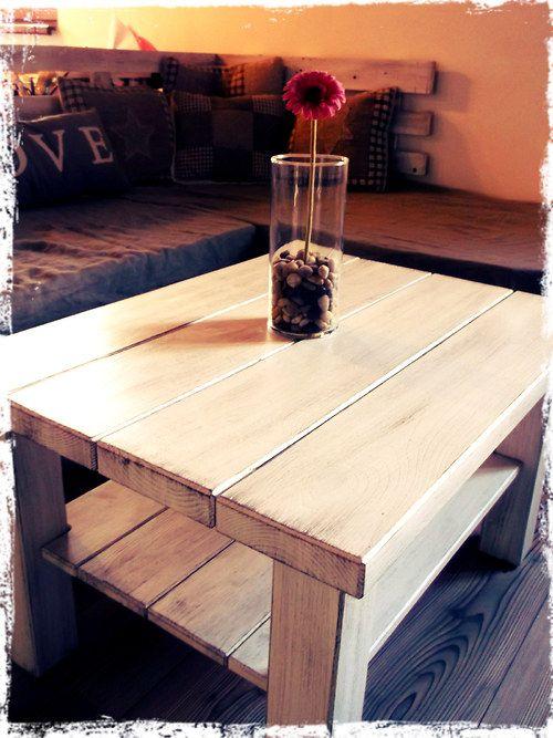 vintage konferenční stolek