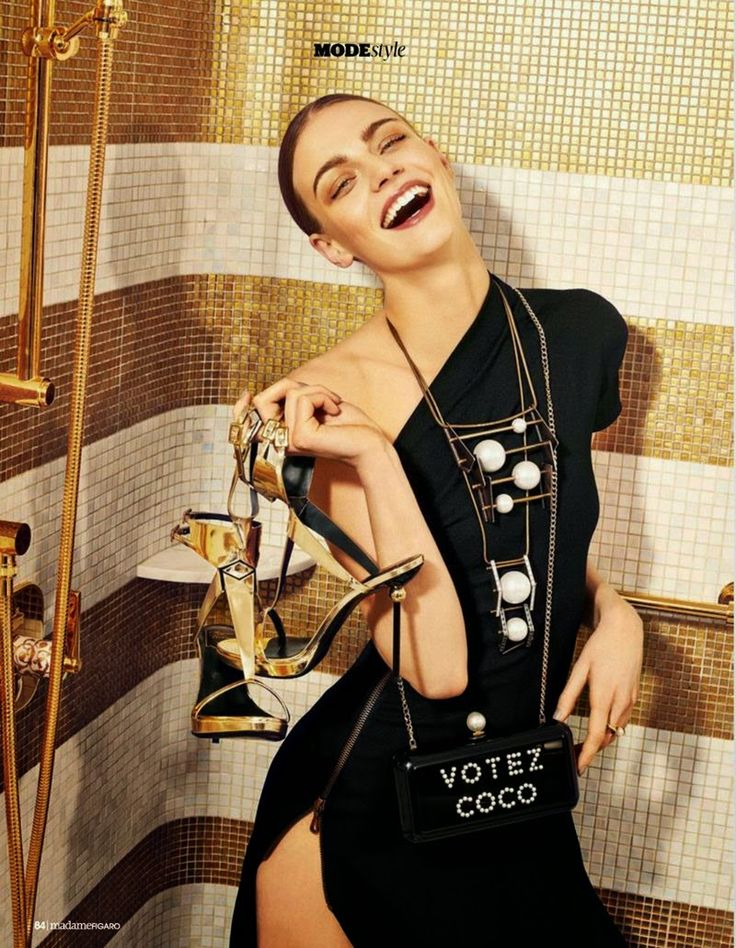 """Melting Top"" Zuzana Kopuncova for Madame Figaro France"
