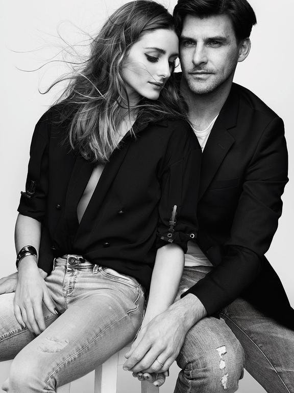 Olivia Palermo and Johannes Huebl