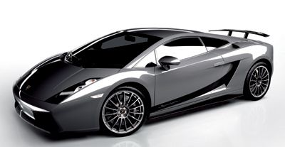 Exotic Car Pictures.  Nice paint style, tinted car windows.