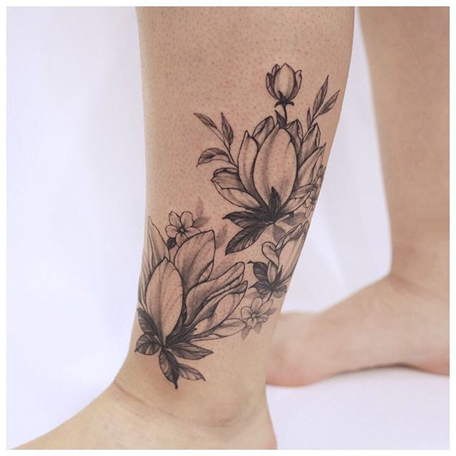 Blackwork Floral Piece By Janetho Createart Torontotattoo Torontotattoos Customtattoo Tattoo Tattoos Art Ins In 2020 Custom Tattoo Ink Tattoo Floral Tattoo