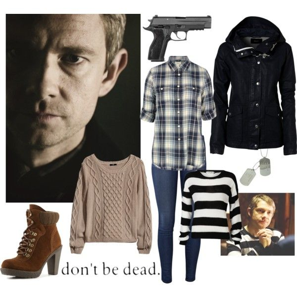 """John Watson Cosplay"" by fefe1217 on Polyvore"