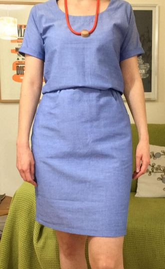 Heather's Bettine dress - sewing pattern by Tilly and the Buttons