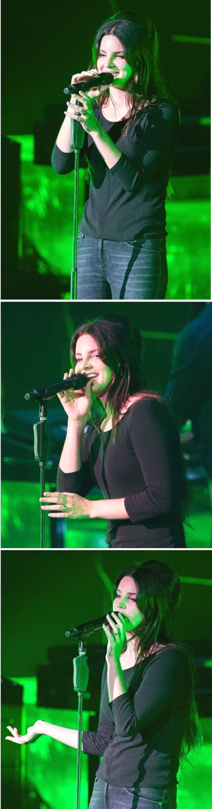 Lana Del Rey performing at 02 Brixton Academy in London #LDR
