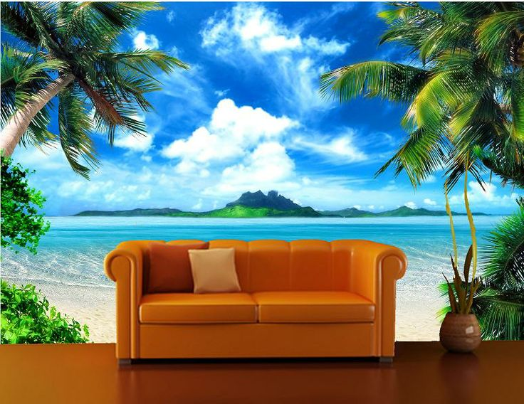 Self Adhesive Palm Tree Decorating Mural Art 170 Free Delivery .