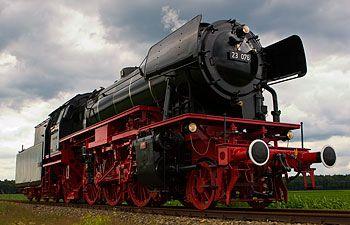 Baureihe 23, the last steam loc of the Deutsche Bundesbahn / Veluwsche Stoomtrein Maatschappij
