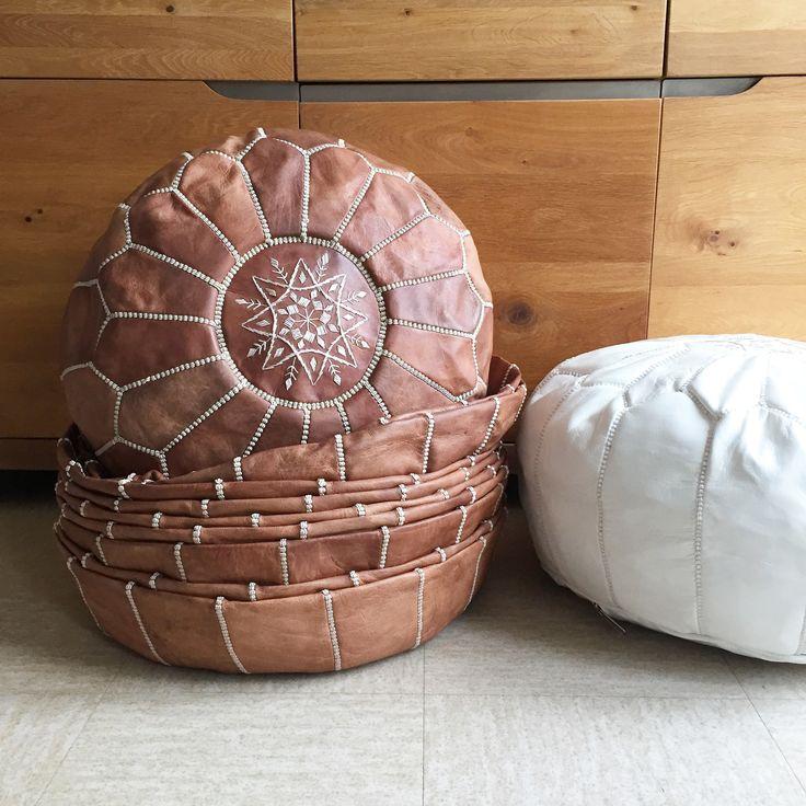 les 25 meilleures id es concernant pouf marocain sur pinterest tissu marocain jardin marocain. Black Bedroom Furniture Sets. Home Design Ideas