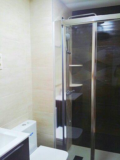 Griferia Baño Antiguo:reformas #came3 #baños #mampara_ducha #griferia