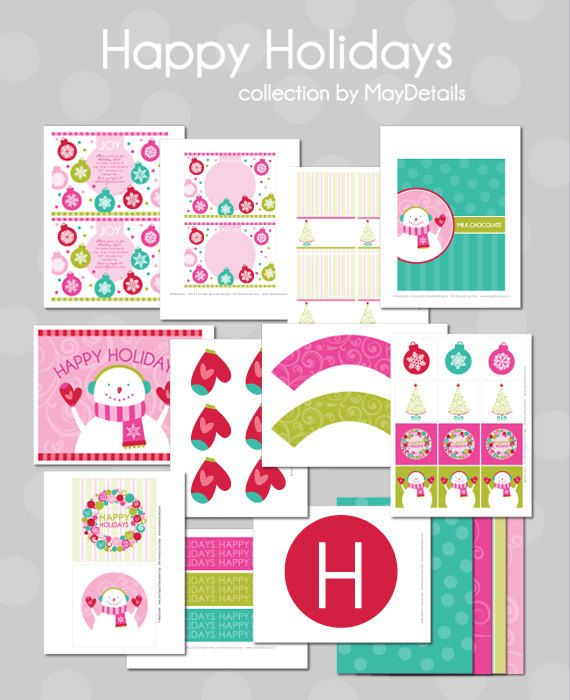 Free Christmas Printables - {15 FREE Downloads}   I Heart Nap Time - Easy recipes, DIY crafts, Homemaking