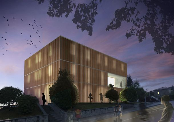 Zaratamo Town Hall Renovation Competition. After. Architecture: 1rst prize, Budget: 2nd. Final: 2nd