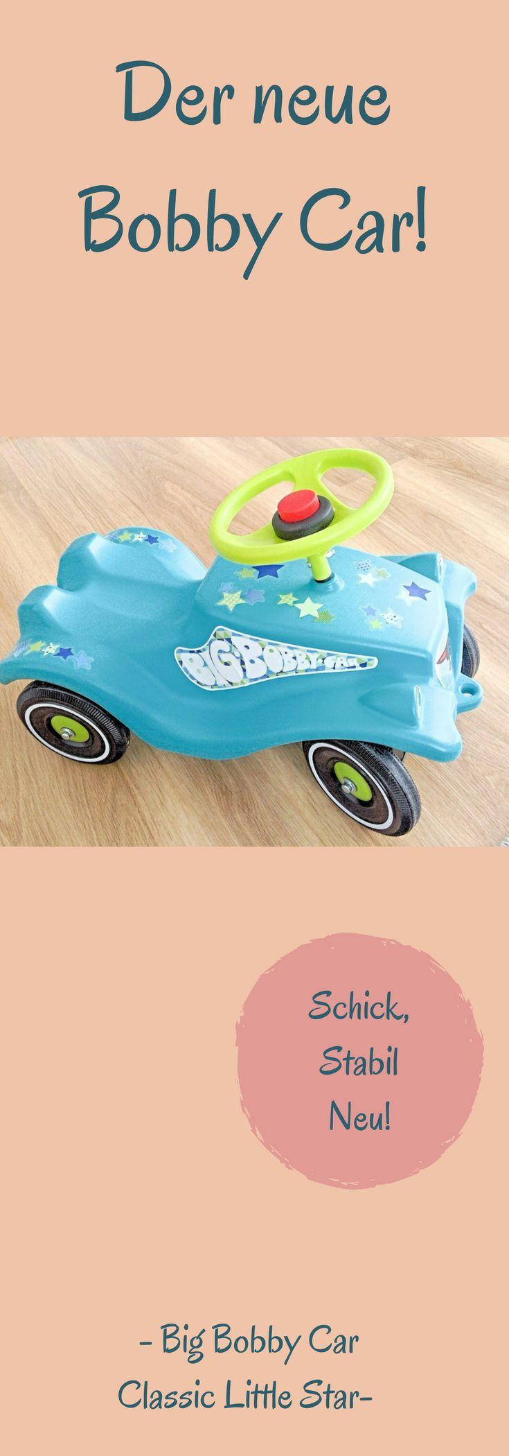 *Werbung  Der neue Bobby Car Classic im Little Star Design #werbung #mamablogger #testbericht
