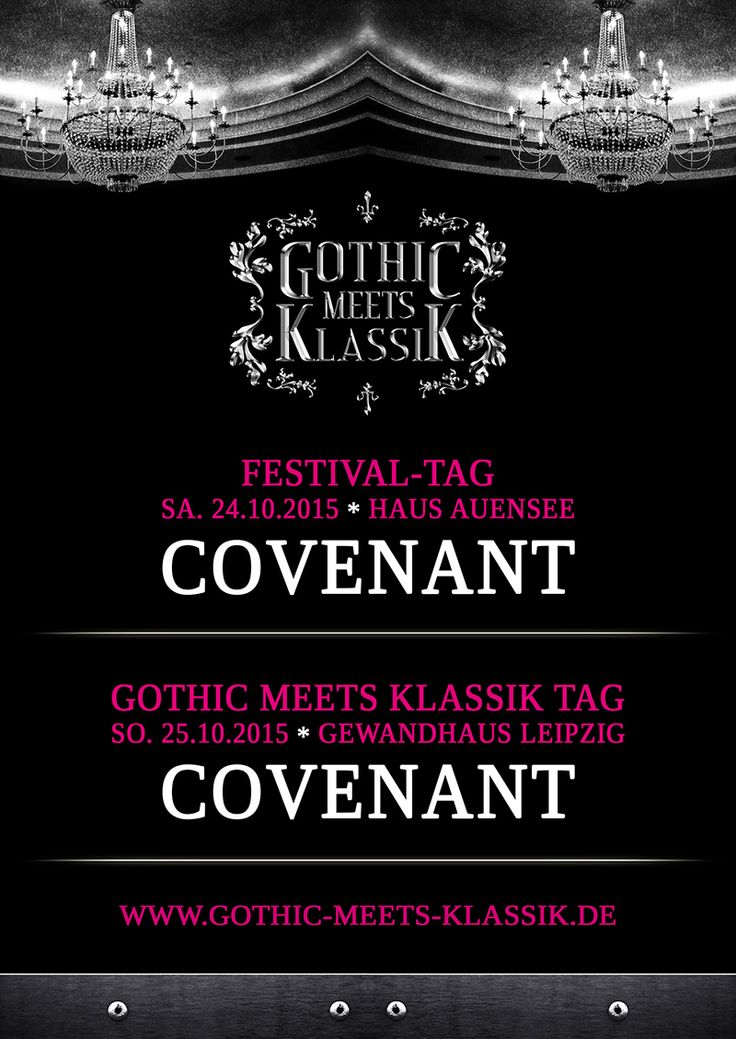Gothic Meets Klassik Festival - Haus Auensee / Gewandhaus Leipzig - Offizielle Website