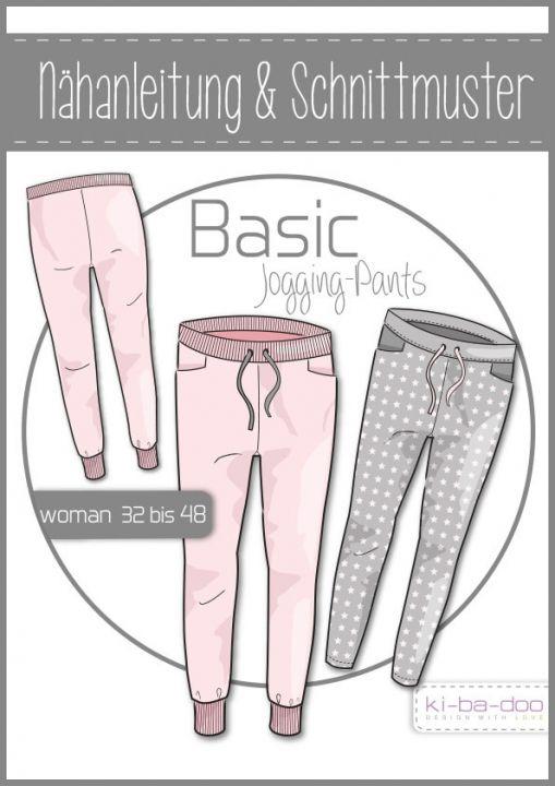 Schnittmuster & Nähanleitung Jogging-Pants Damen – Mandy Illhardt