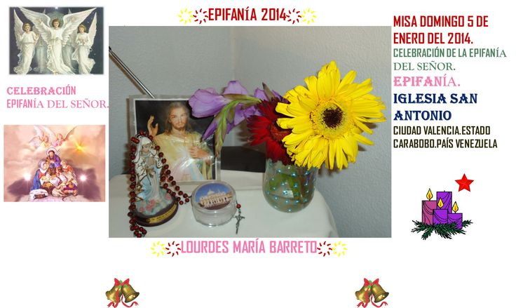 LAS MARGARITAS QUE ME REGALARON HOY DOMINGO 5 DE DICIEMBRE DEL 2014. ES EL DIA DE LA EPIFANIA DEL SEÑOR. PARTE 3  +♠LOURDES MARIA BARRETO+♠