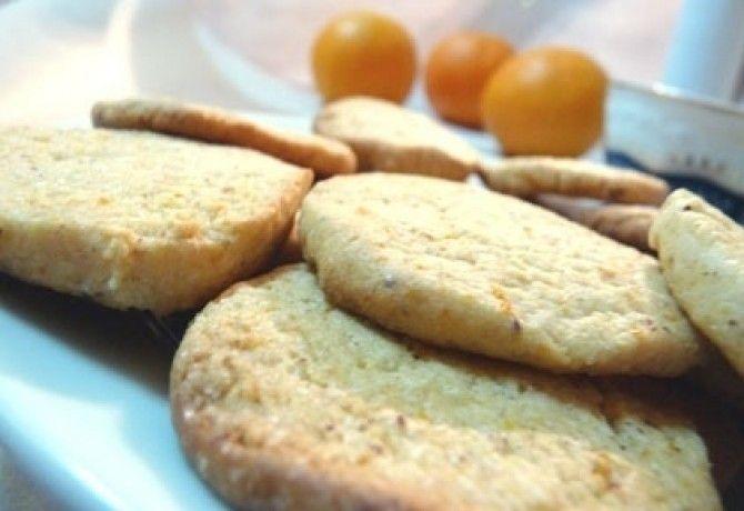 Narancsos- mogyorós keksz......(kevesebb cukorral)