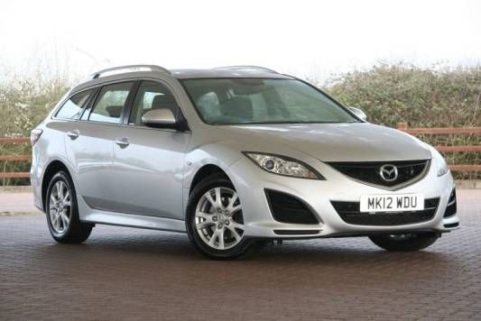 Used 2012 (12 reg) Silver Mazda 6 2.2d [163] TS 5dr for sale on RAC Cars