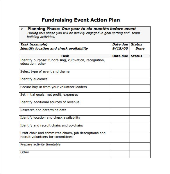 Event Planning Proposal, Event