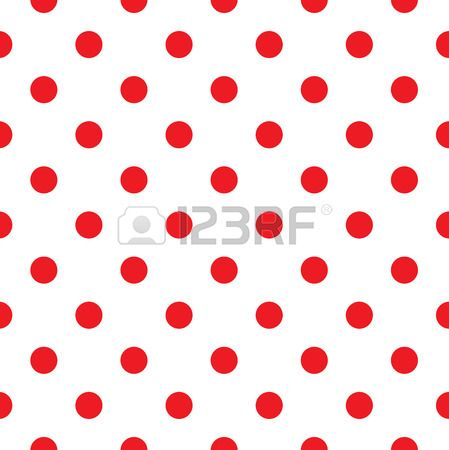 Polka dot fabric  Retro vector background or pattern