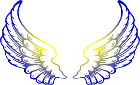 Image result for angel wing clip art