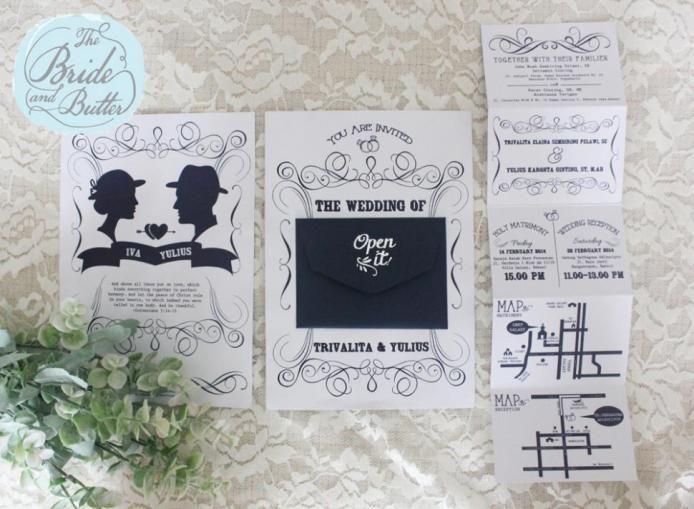 The Bride and Butter at www.bridestory.com #weddingideas #weddinginspiration #thebridestory #weddinginvitations