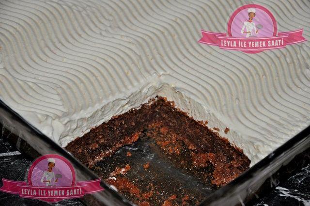 Kakaolu Kremalı İrmikli Revani Tarifi
