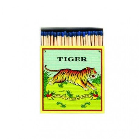 TIGER MATCH BOX