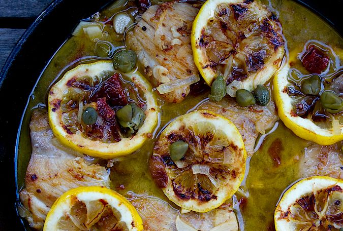 Chicken PiccataSoul Food, Getthefood In, Chicken Piccata, Picatta Recipesivetri, Chicken Picatta, Sundried Tomatoes, Picatta Recipe I Ve Try, Food Creations, Dinner Recipe