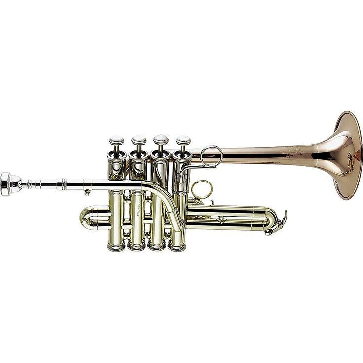 Getzen 3916 Custom Series Bb/A Piccolo Trumpet Lacquer