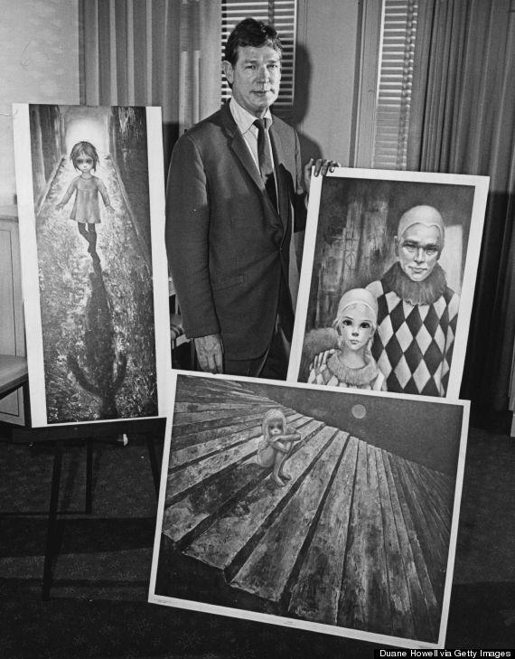 the art of margerat keane | ... To Know About Margaret & Walter Keane, Tim Burton's Latest Obsession