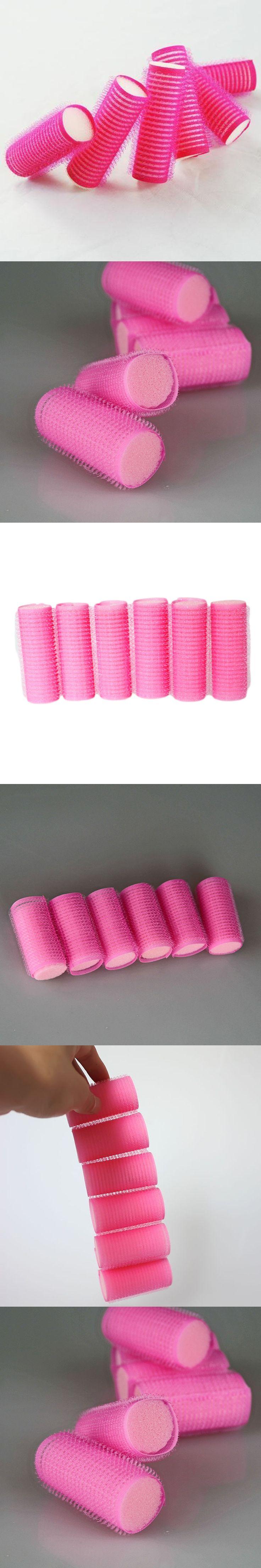 1set Curler Roller Grip Hair Roller DIY Hair Curler Sponge Self Grip Hairdressing Rollers Hair Styling Tools For Salon