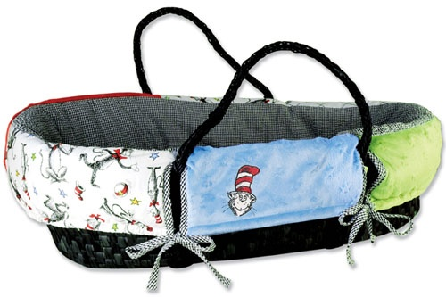 Dr. Seuss Cat in the Hat Moses Basket $72.73