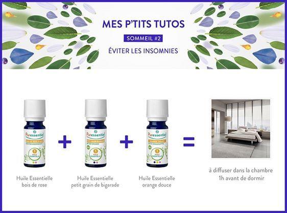 DIY : Éviter les insomnies avec des huiles essentielles en diffusion