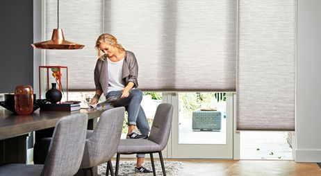 Duette Company is a popular name in blinds industry. Duette energy saving blinds provides wide range of blinds for every single home, and every room.