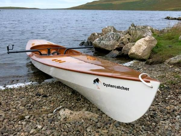 The Expedition Wherry is a fast, seaworthy rowing boat for serious sliding-seat rowers