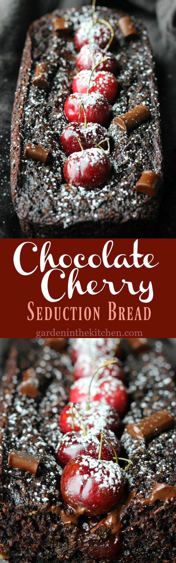 Chocolate Cherry Seduction Bread