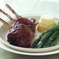 Lamb Racks With Garlic and Rosemary @ allrecipes.com.au