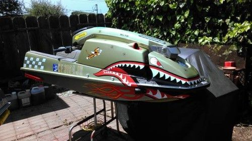 custom+boat+paint+images | Custom Kawasaki JS 550 jet skis custom paint - | Boat Engine Trader