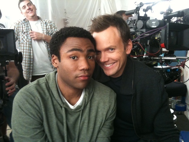 Donald Glover and Joel McHale-Community haha yess!
