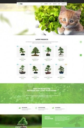 Last update: July 31, 2016 Leo Poppins Responsive Prestashop Theme is a wonderful theme with 5 homepages. It is designed for diversified commodities as fashion store, pet store, drug store a...