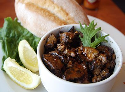 South African Peri-Peri Chicken Livers