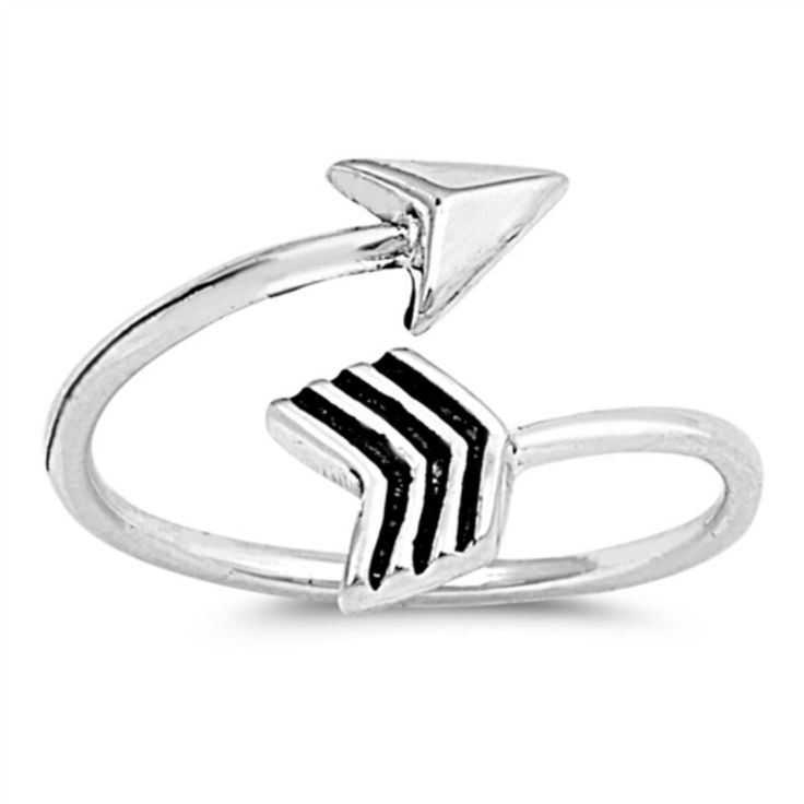 Silver Toe Ring Adjustable 9mm Arrow toe Ring 925 Sterling Silver Toe Ring Adjustable Toe Ring Toe Simple Plain Her Ladies Jewelry Toe Ring