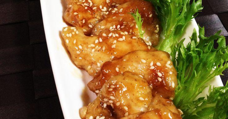 簡単に鶏むね肉のやわらか照り焼きチキン by やちゅぴちゅ [クックパッド] 簡単おいしいみんなのレシピが253万品