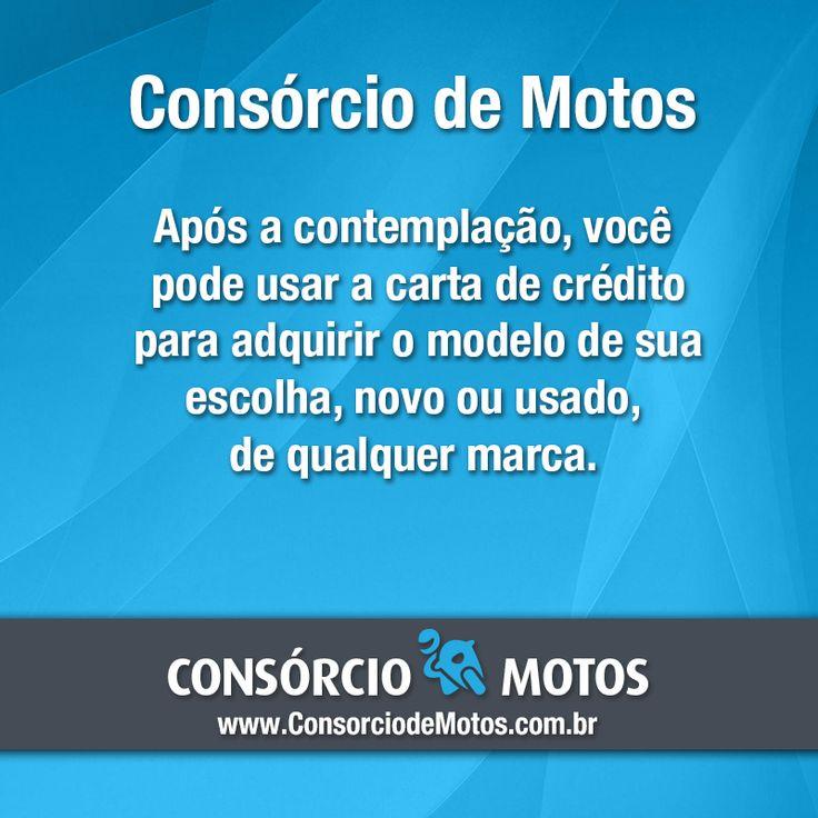 #DicasParaMotos  Uma das formas mais vantajosas de comprar uma motocicleta é por meio do consórcio. O plano permite que você realize o sonho de comprar um modelo em pequenas parcelas, sem comprometer o seu orçamento mensal. Veja: https://www.consorciodemotos.com.br/noticias/conheca-as-vantagens-do-consorcio-de-motos?idcampanha=288&utm_source=Pinterest&utm_medium=Perfil&utm_campaign=redessociais