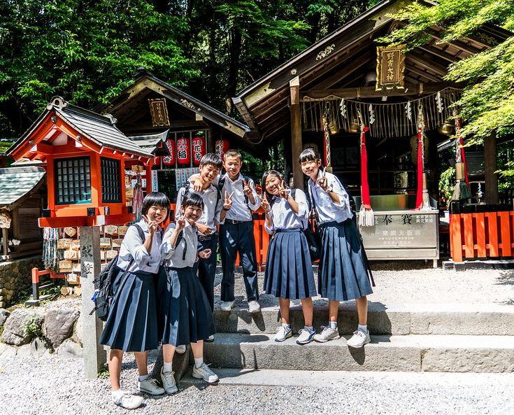 Japans leren - Japanse schoolkinderen