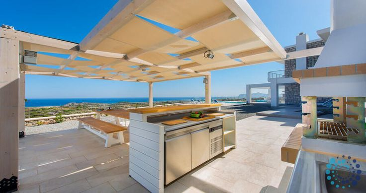"Welcome to the ""Villa Olympos"" in Rhodes, Greece. Your #luxury #villa #rent #greece #greek #island #vacances #grece #mygreekvilla #alouer"
