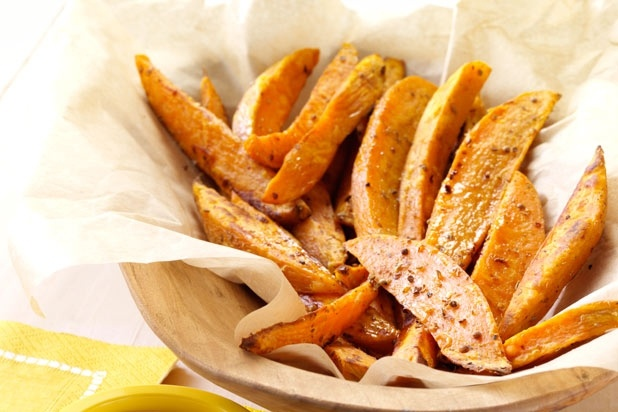 11 Creative Sides for Summer Cookouts — Spicy Sweet Potato Fries