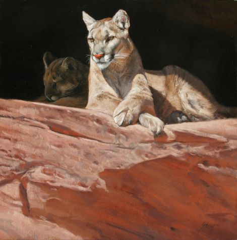 Lounging Couple by Edward Aldrich
