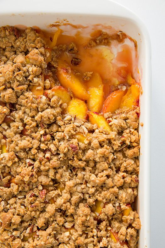 Peach Crisp (the BEST!) | Cooking Classy